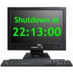 schedule shutdown