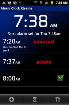 alarm clock xtreme 1