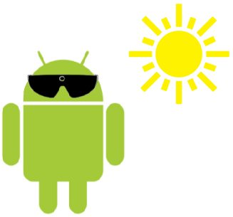 android sunglasses