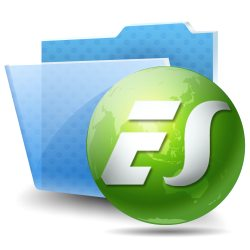 es file explorer logo
