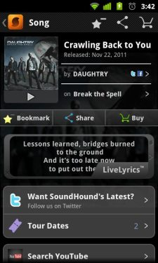 soundhound android 3
