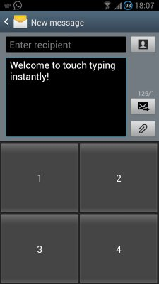 touch typing android 1