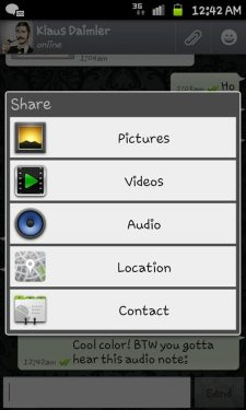 whatsapp android 3